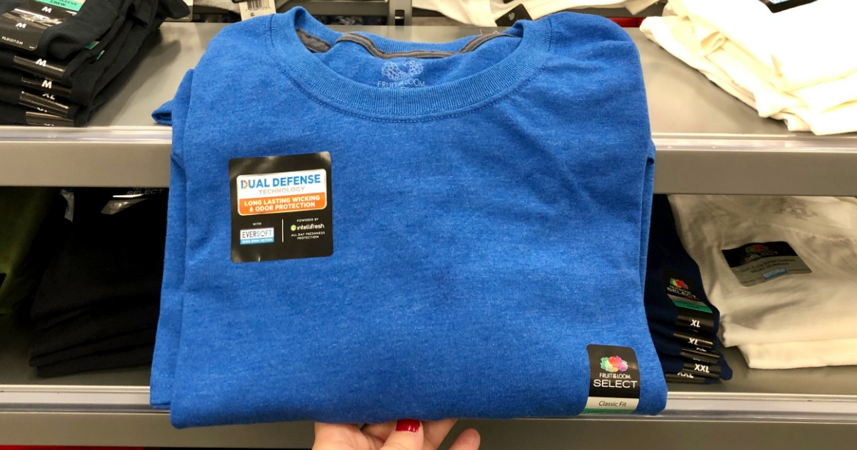49fca69773f80 Fruit of the Loom Men s Tees Only  5 at Target (In-Store   Online)