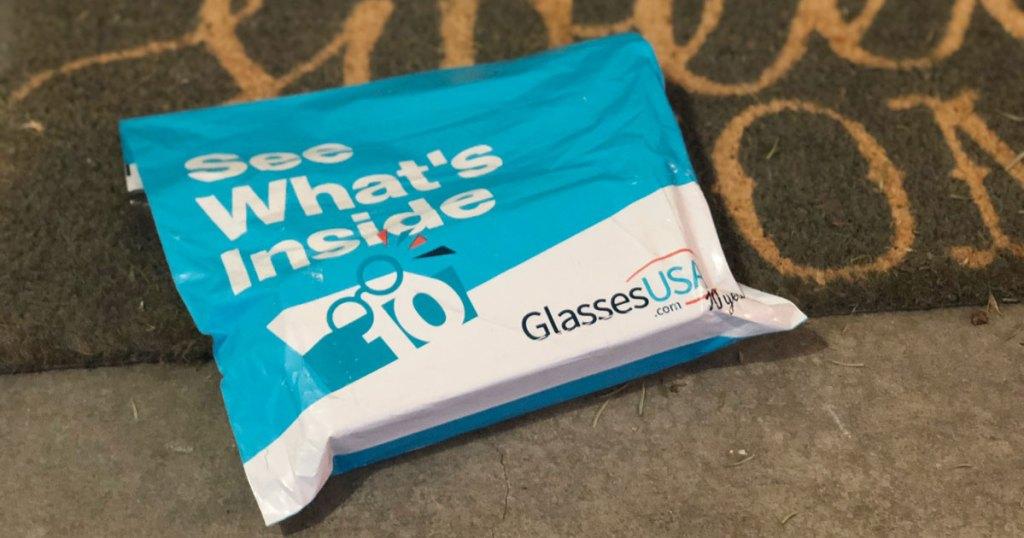 GlassesUSA package