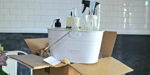 FREE Mrs. Meyer's Cleaning Supplies Bundle w/ $20 Grove Collaborative Order ($35 Value)