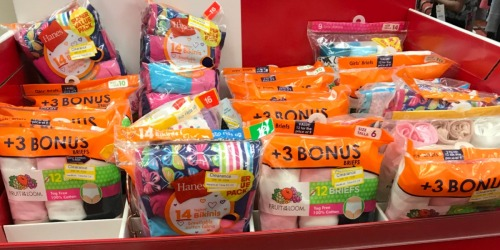50% Off Kids Socks & Underwear at Target (Hanes, Cat & Jack, Disney & More)