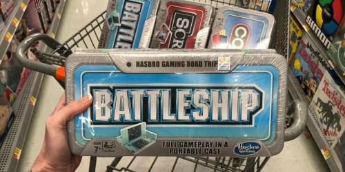 Hasbro Gaming Road Trip Games Just $6.99 at Walmart.com (Regularly $15) – Battleship, Scrabble & More