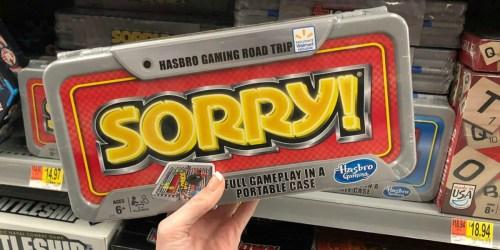 Hasbro Travel Games Just $6 at Walmart (Regularly $15)