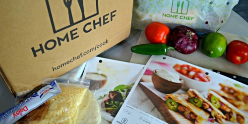 $30 Off First Home Chef Order (Low Carb & Vegetarian Options Available)