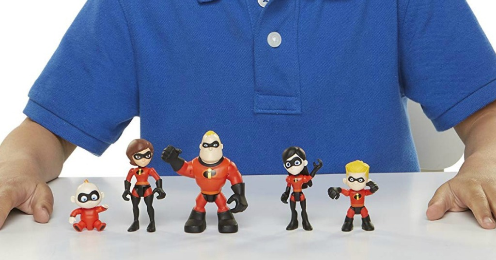 Five The Incredibles 2 Action Figures Only  Ships W 25 Amazon Order