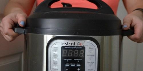 Instant Pot 6-Quart Pressure Cooker as Low as $69.99 Shipped + Get $10 Kohl's Cash