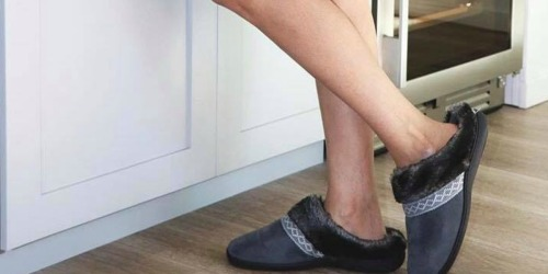 Isotoner Slippers Only $7.79 Shipped (Regularly $26) & More