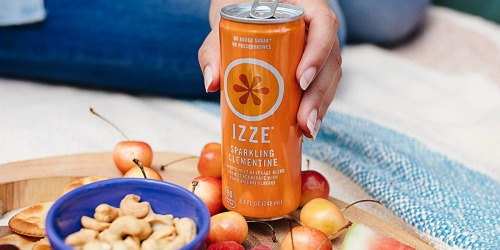 IZZE Sparkling Juice Clementine 24-Pack Only $9.58 Shipped on Amazon