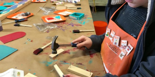 Register Now for Free Home Depot Kids Workshop on October 5th | Build a Fire Plane