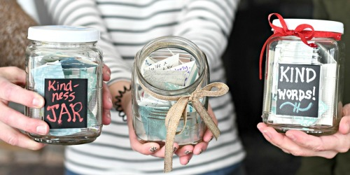 Spread LOVE: This DIY Kindness Jar is a Feel Good Craft!