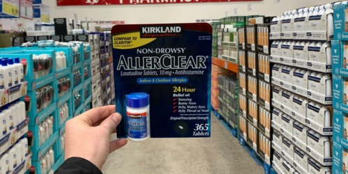 Kirkland Signature AllerClear 365-Count Tablets Only $7.99 at Costco + More