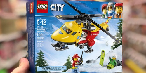 LEGO City Ambulance Helicopter Only $11.99 (Regularly $20) & More