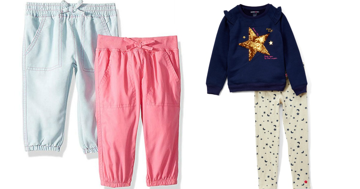 5fa8bc51db3d5 Limited Too Toddler   Girls Navy Star  To the Moon  Sweatshirt   Cream  Leggings Only  14.99 (regularly  44)