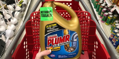 New Printable Liquid Plumr Coupon + Target Deal Idea