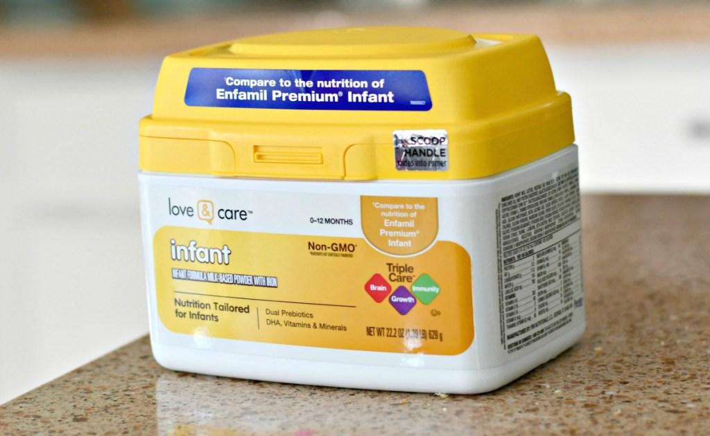 love & care infant formula