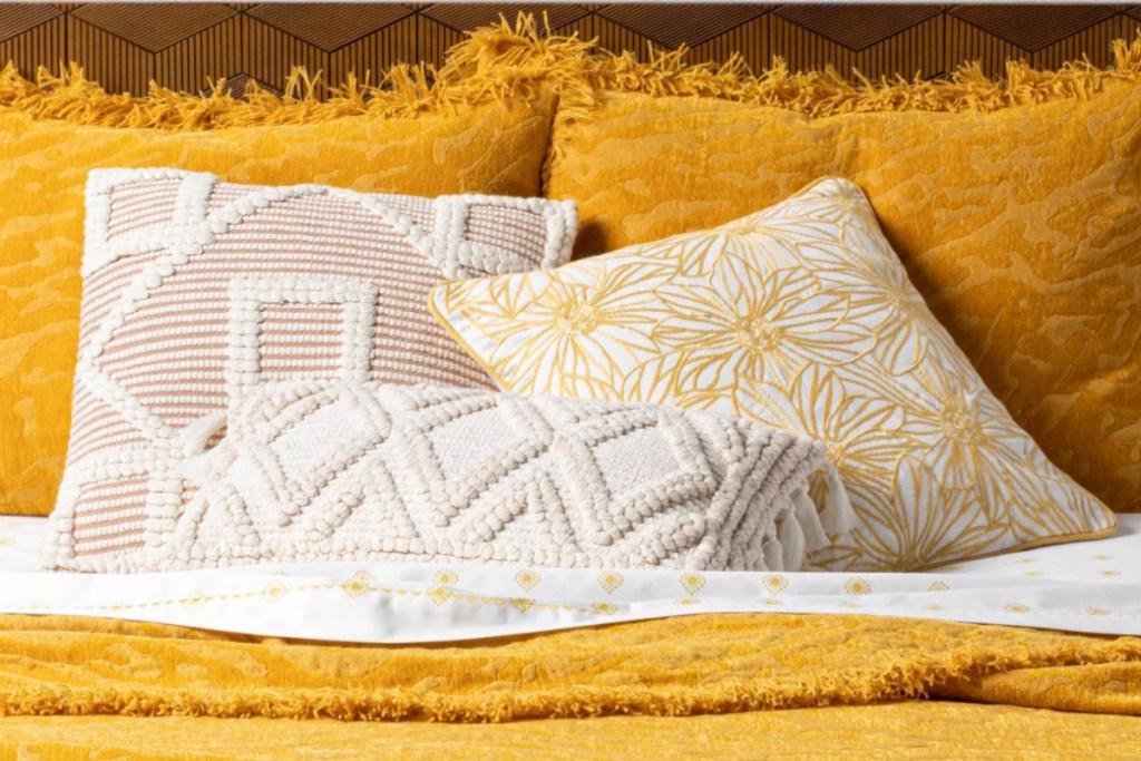 Lumbar Woven Diamond Throw Pillow by opalhouse