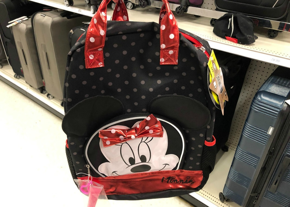 0a30b8b8d45 Keep your eyes peeled for this deal… Select. Minnie Mouse 16″ Kids Backpack  with Lipgloss