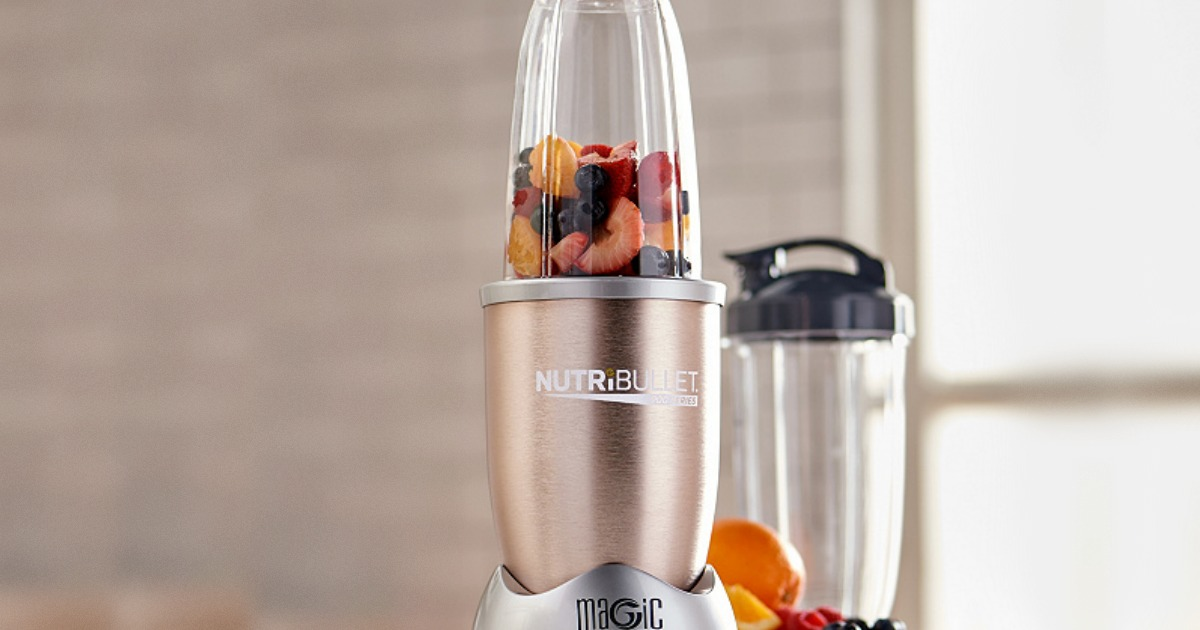 qvc nutribullet pro with berried and fresh fruit