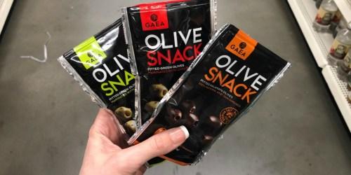 Snacks & Condiments Only $1 at Dollar Tree (Olive Snack, Apple Cider Vinegar & More)