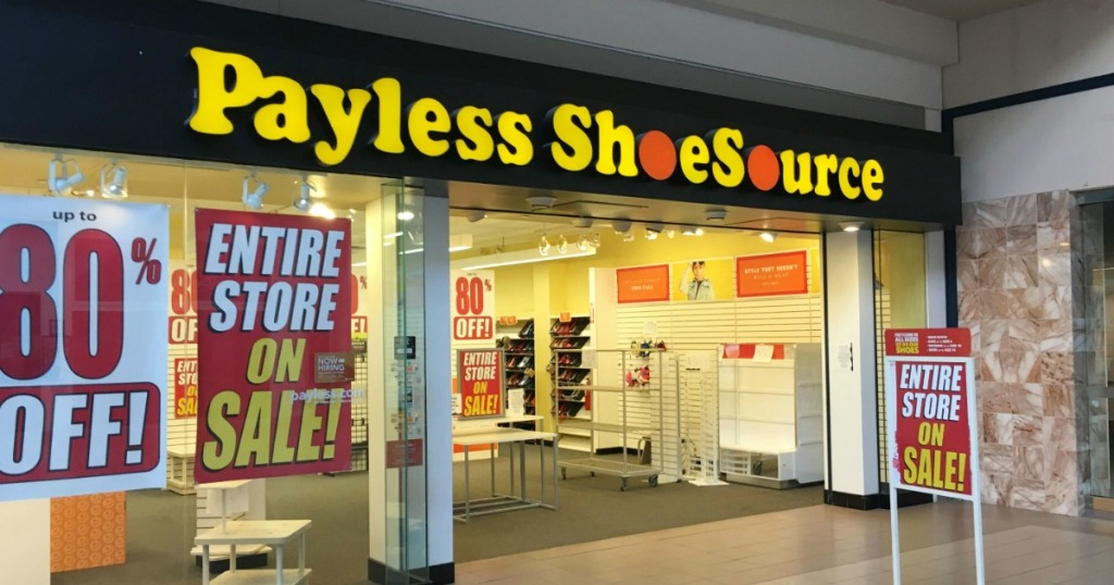 185c53e1793 Payless ShoeSource Filing For Bankruptcy AGAIN   Closing All Stores