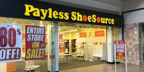 Payless ShoeSource Filing For Bankruptcy AGAIN & Closing All Stores