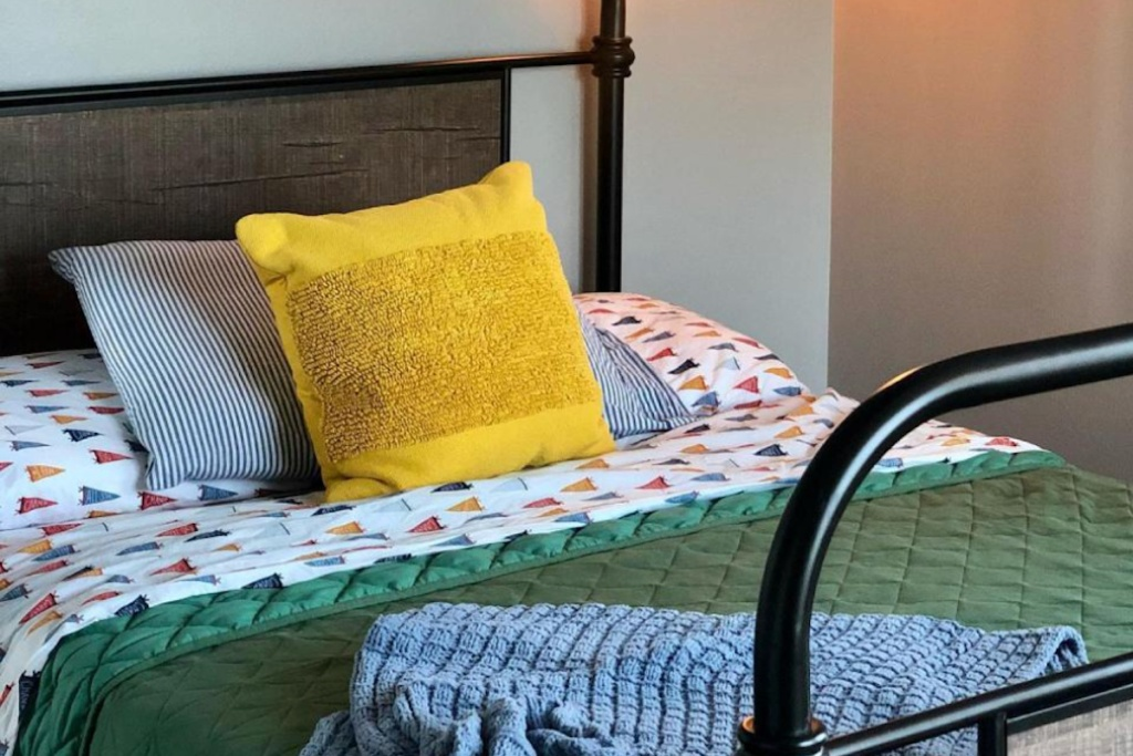 Project 62 square tufted throw pillow from target