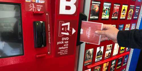 $1.50 Off Redbox DVD, Blu-ray or Video Game Rental