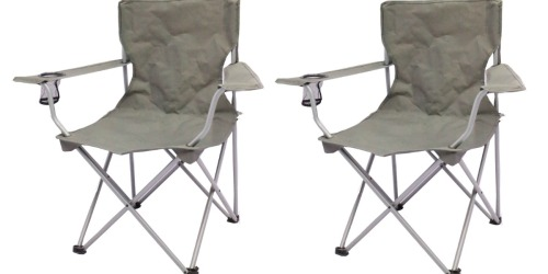 Walmart.com: Ozark Trail Folding Chairs 2-Count Only $12.95 (Regularly $20)