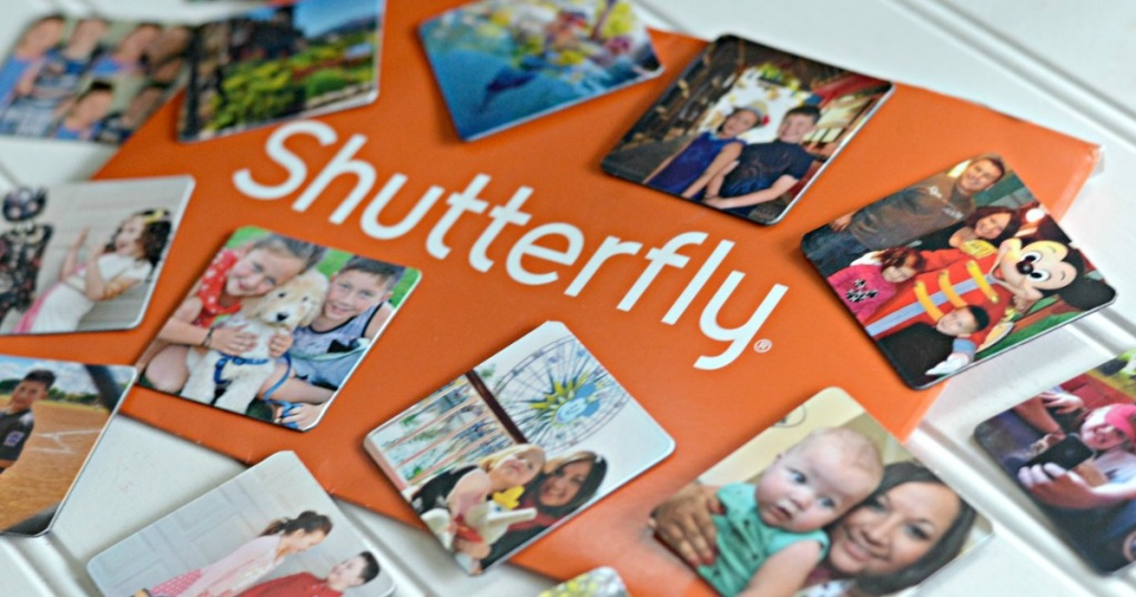 Assorted shutterfly photo coasters with shutterfly envelope