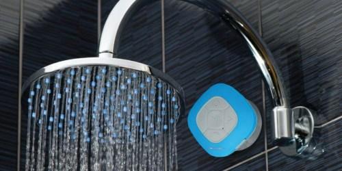 SoundLogic Bluetooth Shower Speaker Just $4 at Home Depot (Regularly $13)