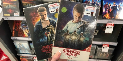 Up to 80% Off Stranger Things Season 1 & 2 Collector's Editions at Target.com