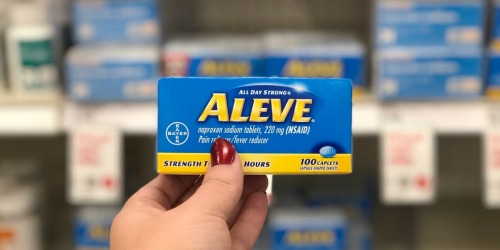 Aleve Pain Reliever 100-Count Just $5.99 Shipped on Walgreens.com (Regularly $12)