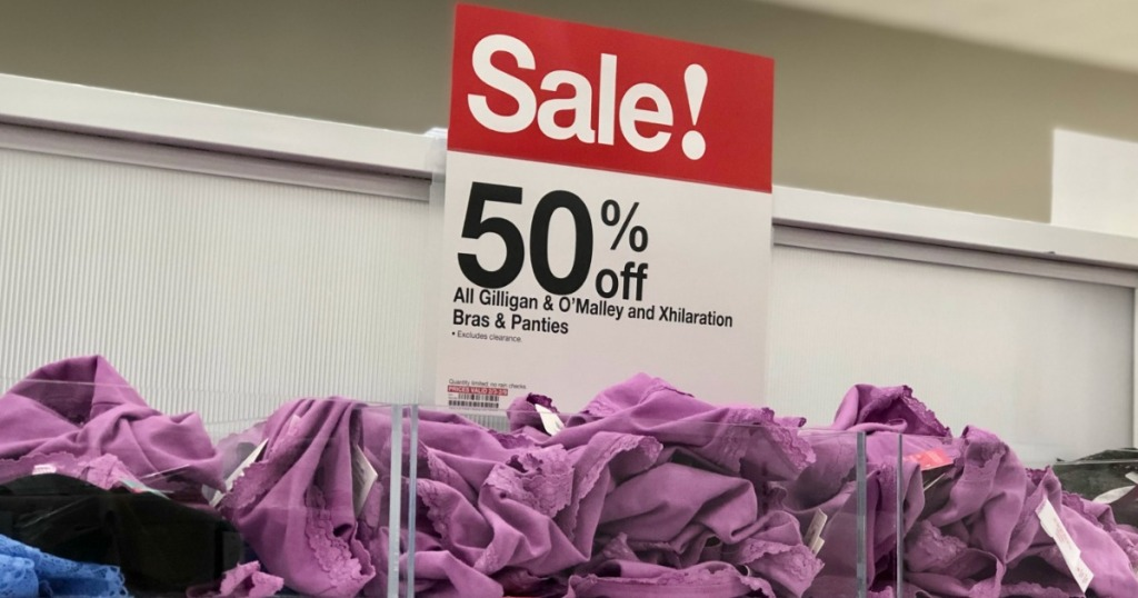 ede70ffe1c 50% Off Gilligan   O Malley and Xhilaration Bras   Panties at Target ...