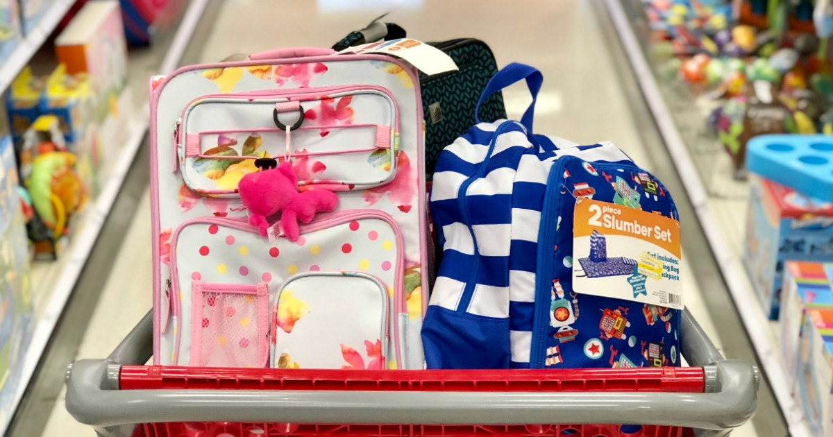 8da23ea442a6 Possibly 70% Off Kids Luggage & Backpack Clearance at Target - Hip2Save