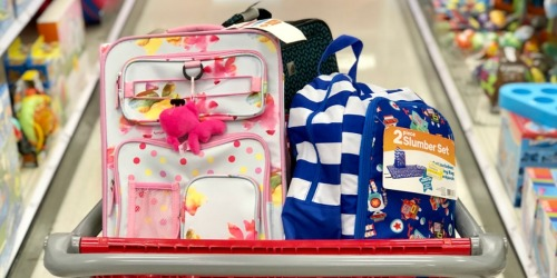Possibly 70% Off Kids Luggage & Backpack Clearance at Target