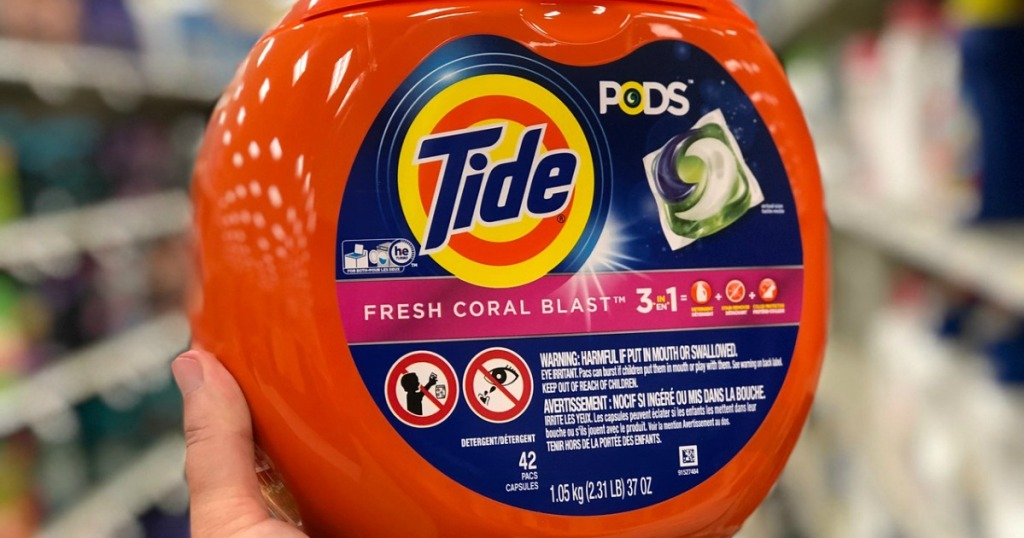 tide pods laundry detergent at target