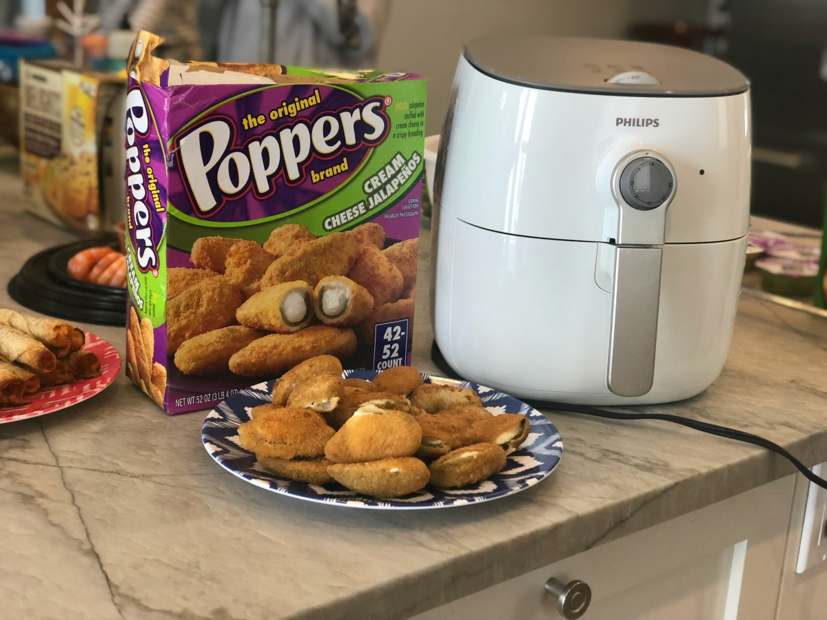jalapeno cream cheese poppers box and plated