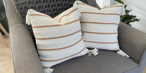 Team Favorite Throw Pillows Starting at Under $6 Per Pillow!