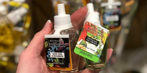 Bath & Body Works Wallflower Fragrance Refills as Low as $2.60 Each (Regularly $6.50)
