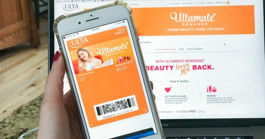 ULTAmate rewards app