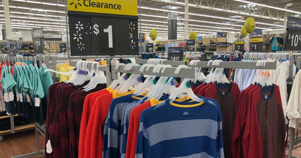 e3c54718f If you are heading to Walmart soon, keep your eyes peeled for clearance boys  clothing! We found some great finds starting at only $1 in-store only.