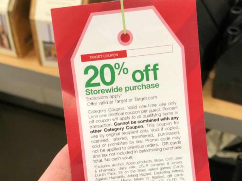 Target Black Friday Coupon Rare 20 Off Discount Hip2save