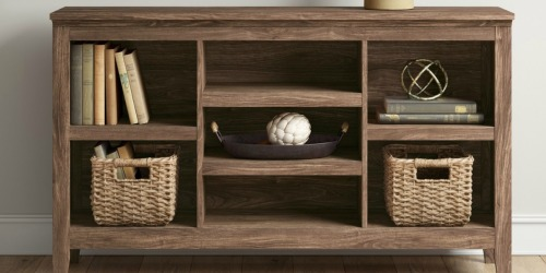 Up to 50% Off Bookshelves & TV Stands at Target