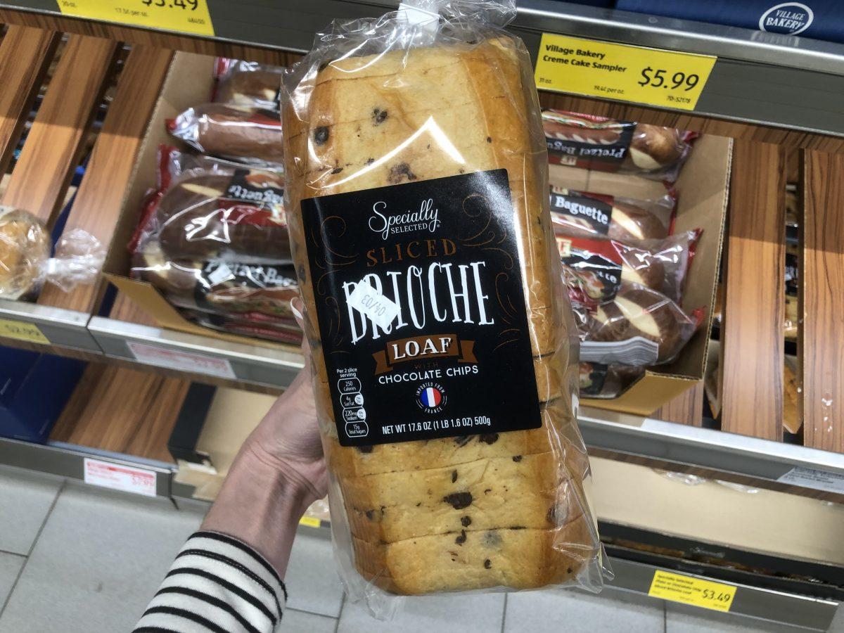 brioche loaf ALDI