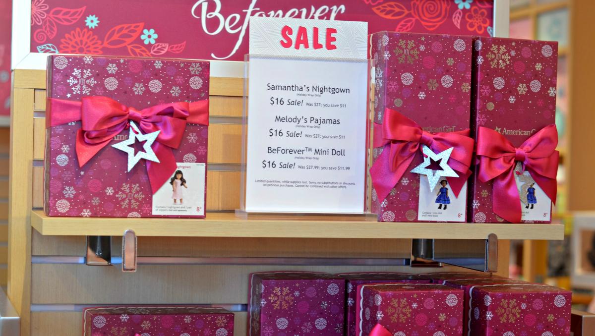 American Girl retail sales