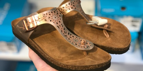 Buy One & Get Two FREE Women's Sandals at JCPenney.com (Ends Tonight)