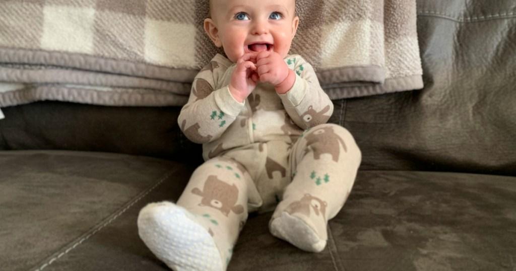 Baby Holden Wearing Walmart
