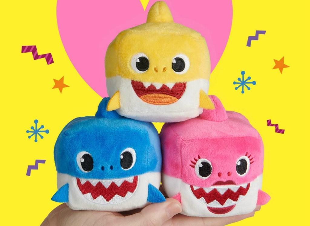 baby shark family cubes