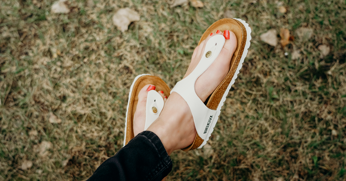 newest 68e30 694e1 Birkenstock Gizeh or Arizona Sandals Only $56.99 Shipped for ...