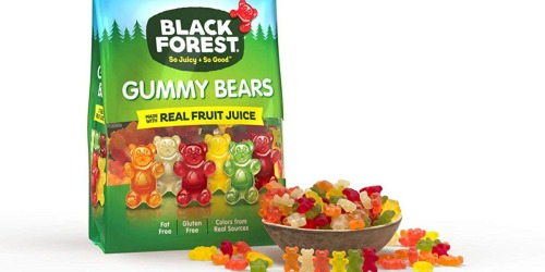 Amazon: SIX Pounds of Black Forest Gummy Bears Only $8.82 Shipped