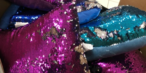 Mermaid Sequin Throw Pillows from $3.59 (Regularly $15) + Free Shipping for Select Kohl's Cardholders
